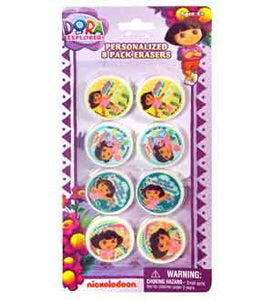 Dora the Explorer Erasers 8-pack
