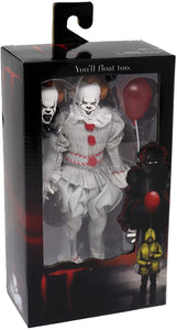 "NECA 45473 IT - 8"" Clothed Action Figure - Pennywise (2017)"