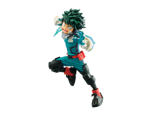 BANPRESTO 81793 My Hero Academia The Movie Heroes: Rising Vs Villian Deku Figure