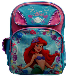 "A01409 The Little Mermaid Large Backpack 16"" x 12"""