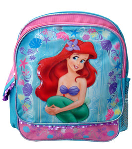"A01439 The Little Mermaid Small Backpack 12"" x 10"""