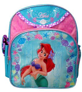 "A01440 The Little Mermaid Small Backpack 12"" x 10"""