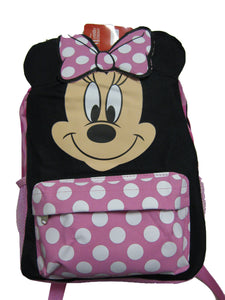 "A02595 Minnie Mouse Small Backpack 12"" x 10"""