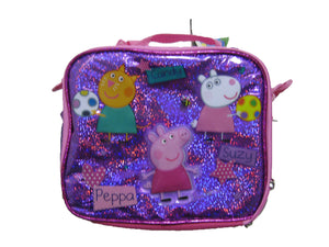 "B15PI25088 Peppa Pig Lunch Bag 8"" x 10"""