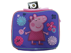 "B15PI25385 Peppa Pig Lunch Bag 8"" x 10"""