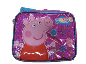 "B15PI25802 Peppa Pig Lunch Bag 8"" x 10"""