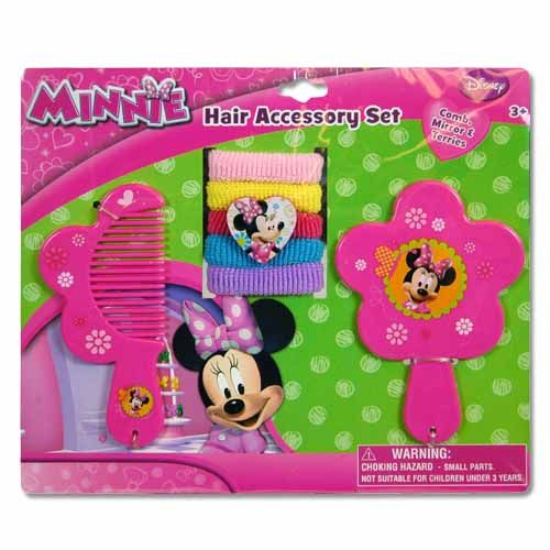 Minnie Hair Accessory 7pc Set
