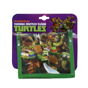 Teenage Mutant Ninja Turtles Non-Woven Bi-Fold Wallet