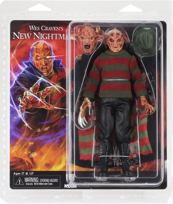 "NECA 39977 Nightmare on Elm Street - 8"" Clothed Figure - New Nightmare Freddy"