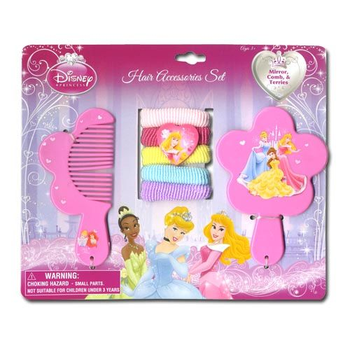 Princess Hair Accessory 7pc Set