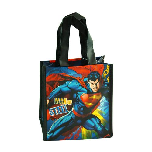 Superman Mini Non-Woven Tote Bag 12-pack
