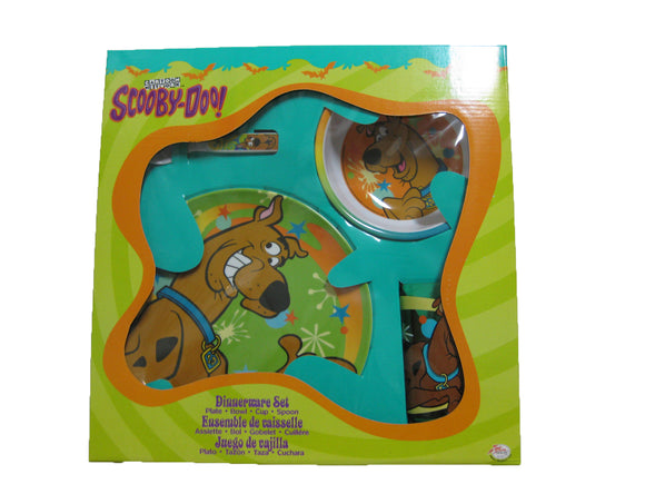 Scooby-Doo 4-Piece Dinnerware Set