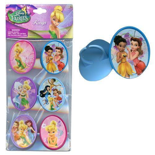 Tinker Bell Rings 6-pack