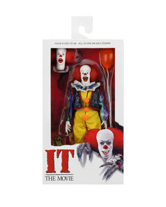 "NECA 45472 IT - 8"" Clothed Action Figure - Pennywise (1990)"