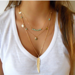 Gold Color Necklaces
