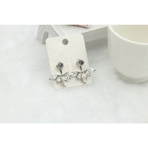 Stud Earrings Zircon Daisy Earrings Creative Flower Earrings Elegant Earrings for Women 2 pairs