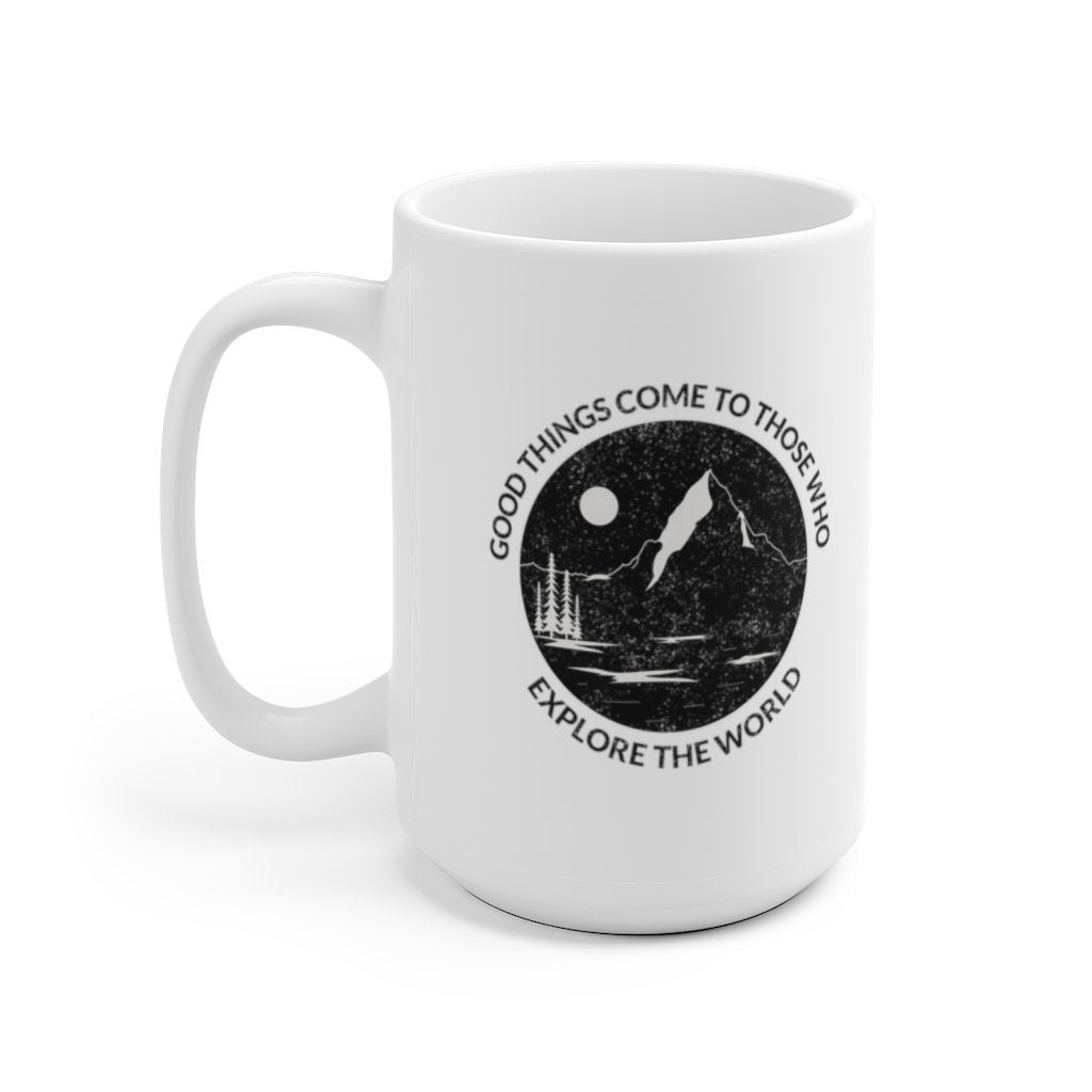 Adventure Mug - Trendy Zebra