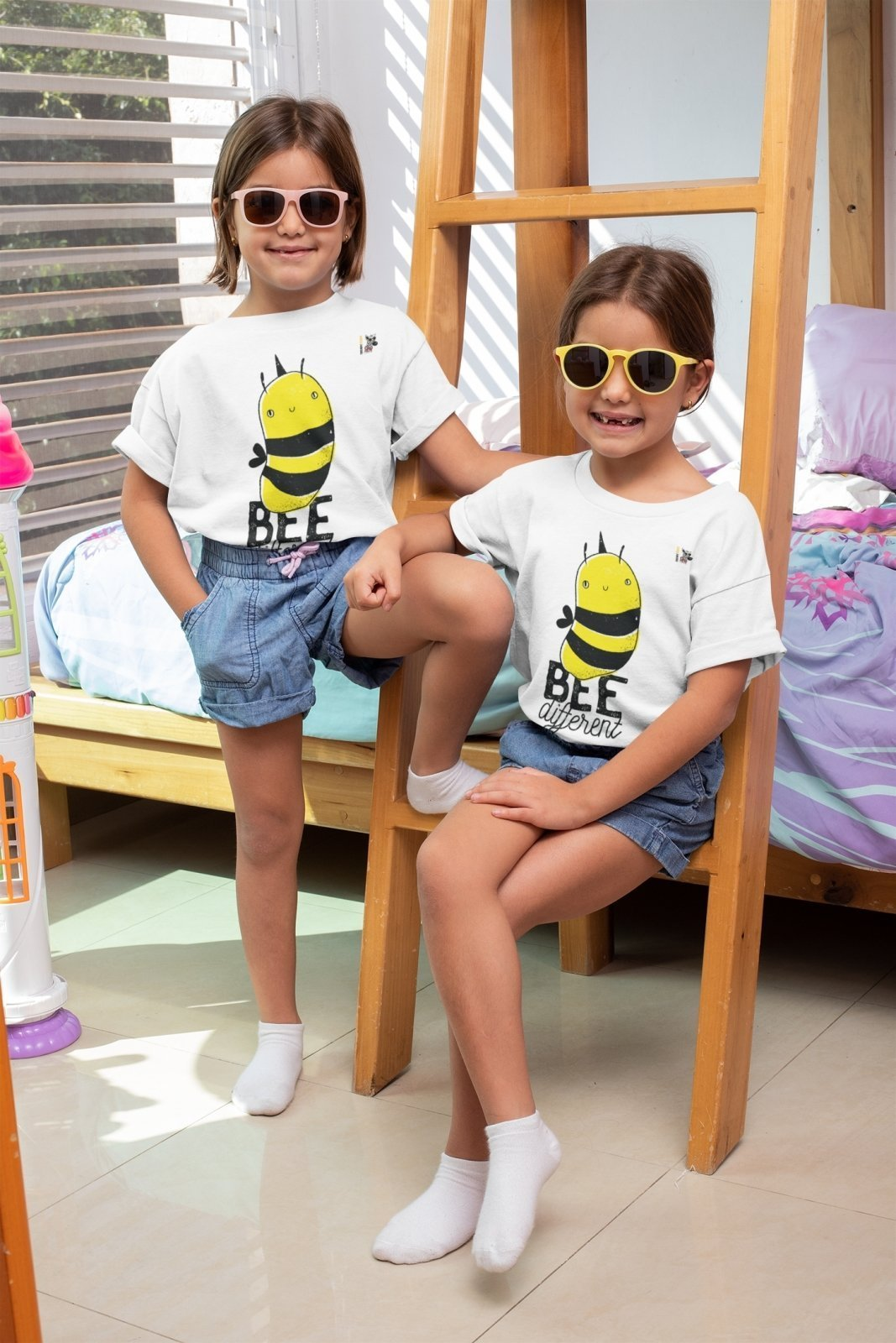 Be Different - Kids T-Shirt - Trendy Zebra