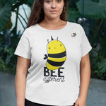 Be Different T-Shirt - Trendy Zebra