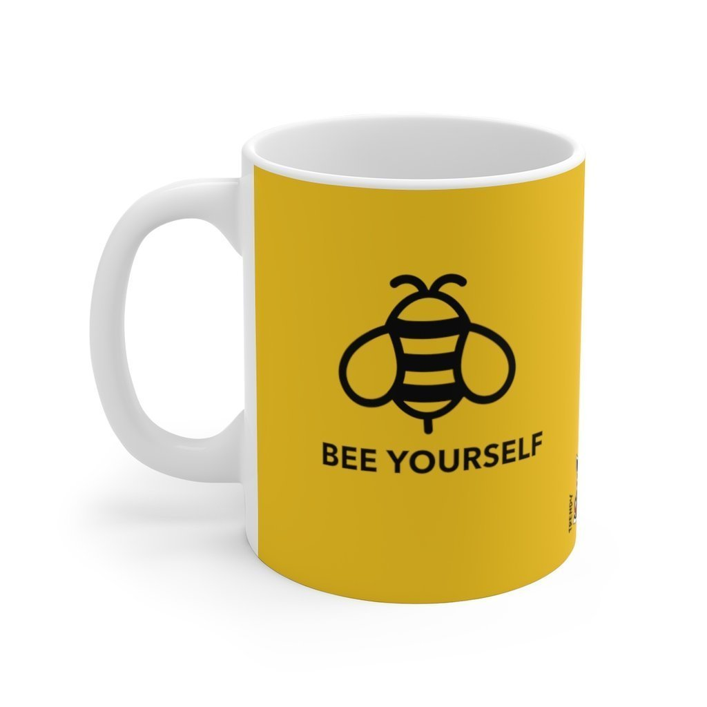 Be Yourself - Ceramic Mug - Trendy Zebra