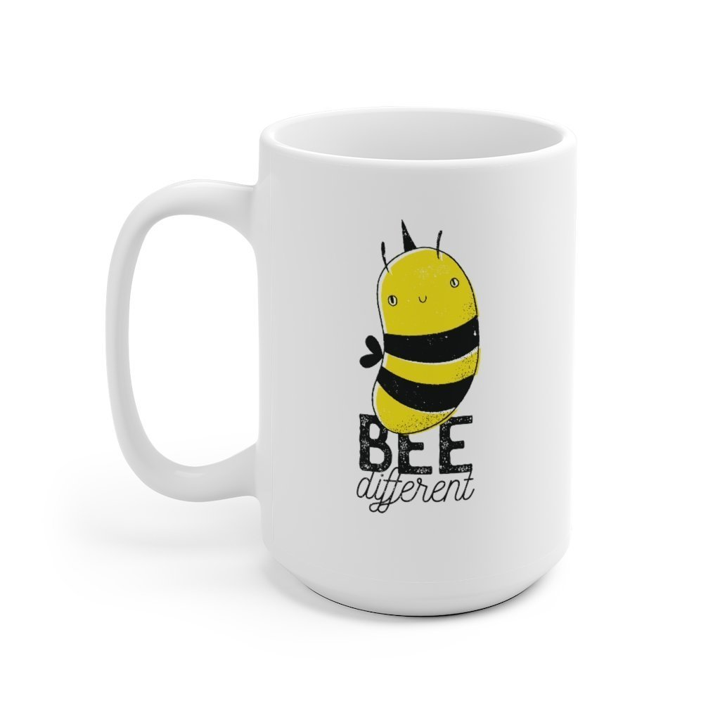 Bee Different Mug - Trendy Zebra