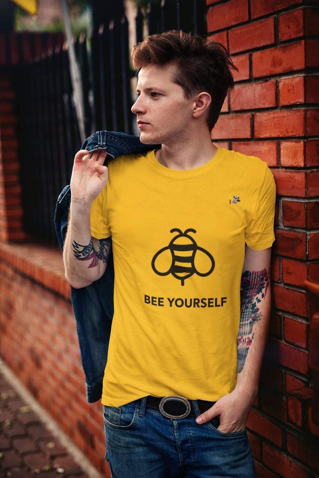Bee Yourself T-Shirt - Trendy Zebra