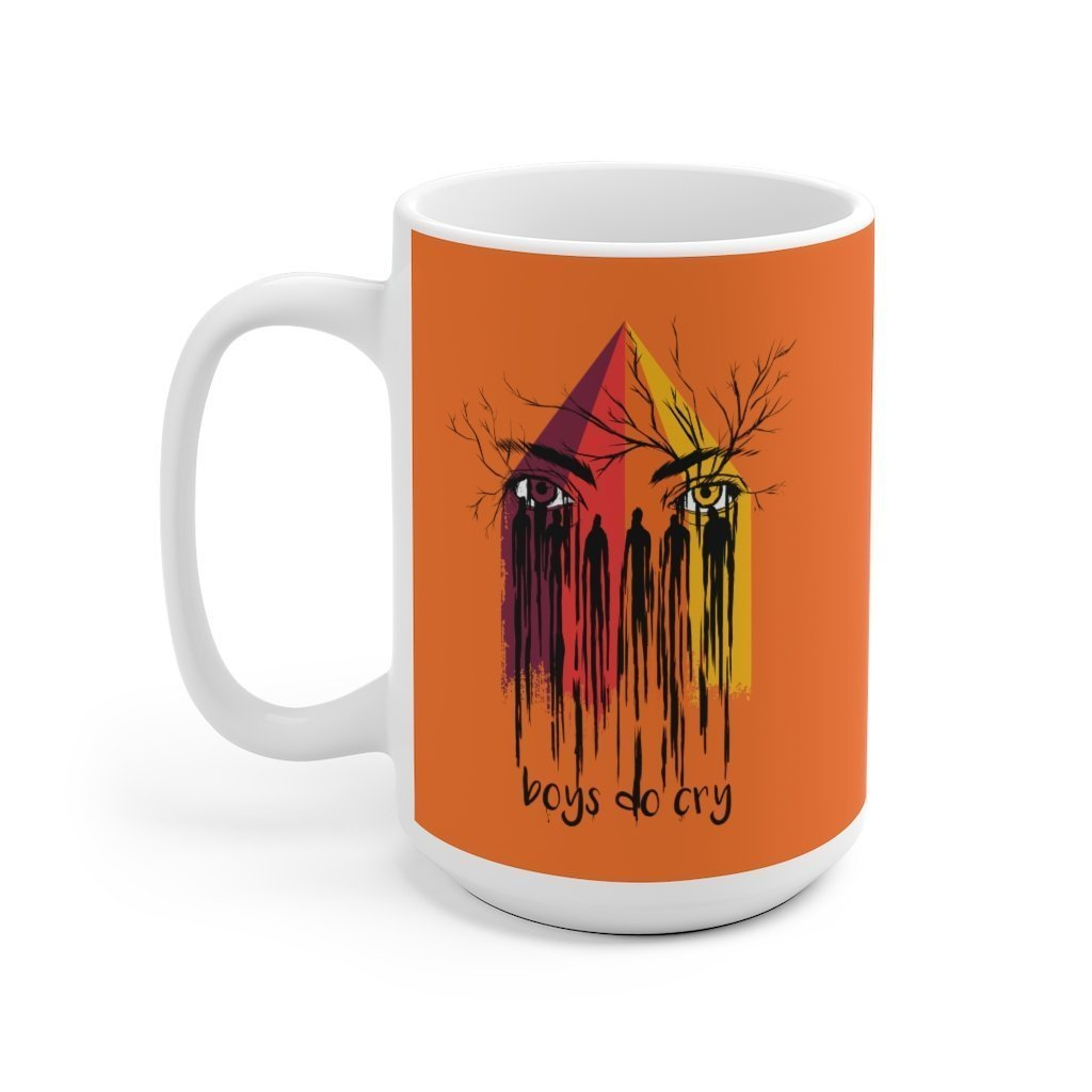 Boys Cry Too Mug Trendy Zebra