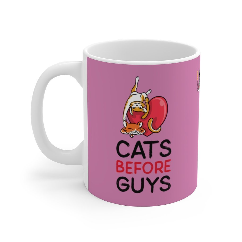 Cat Love - Ceramic Mug Trendy Zebra
