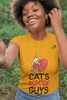 Cat Love - Valentine's T-Shirt Trendy Zebra