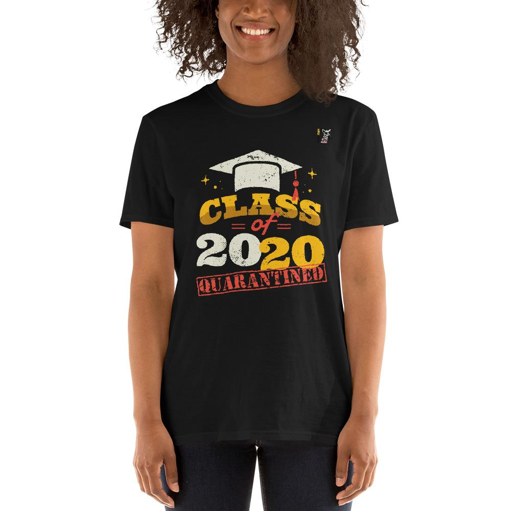 Class of 2020 Quarantine T-Shirt Trendy Zebra