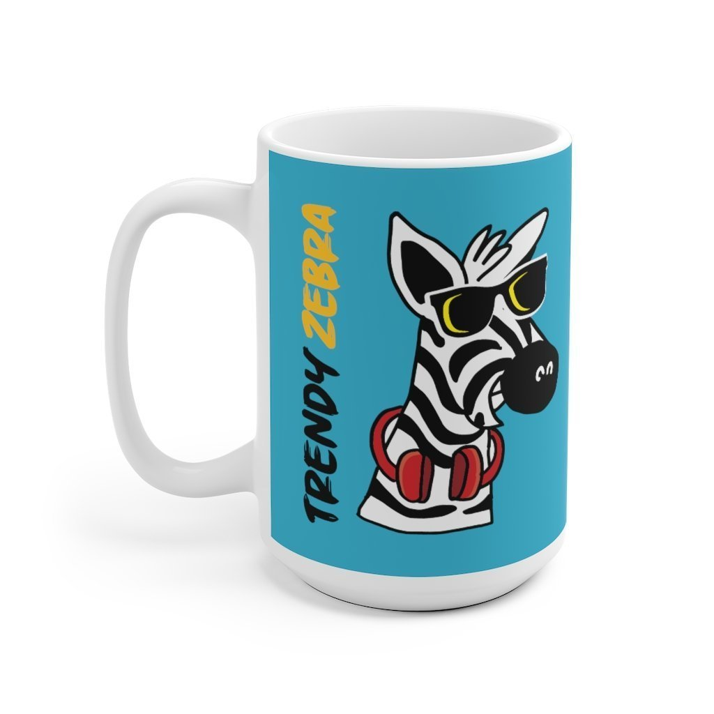 Fancy Trendy Zebra Mug Trendy Zebra