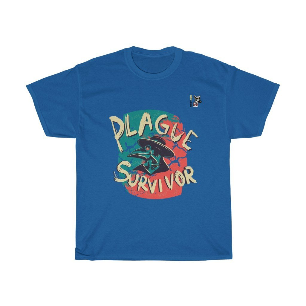 Plague Survivor T-Shirt Trendy Zebra
