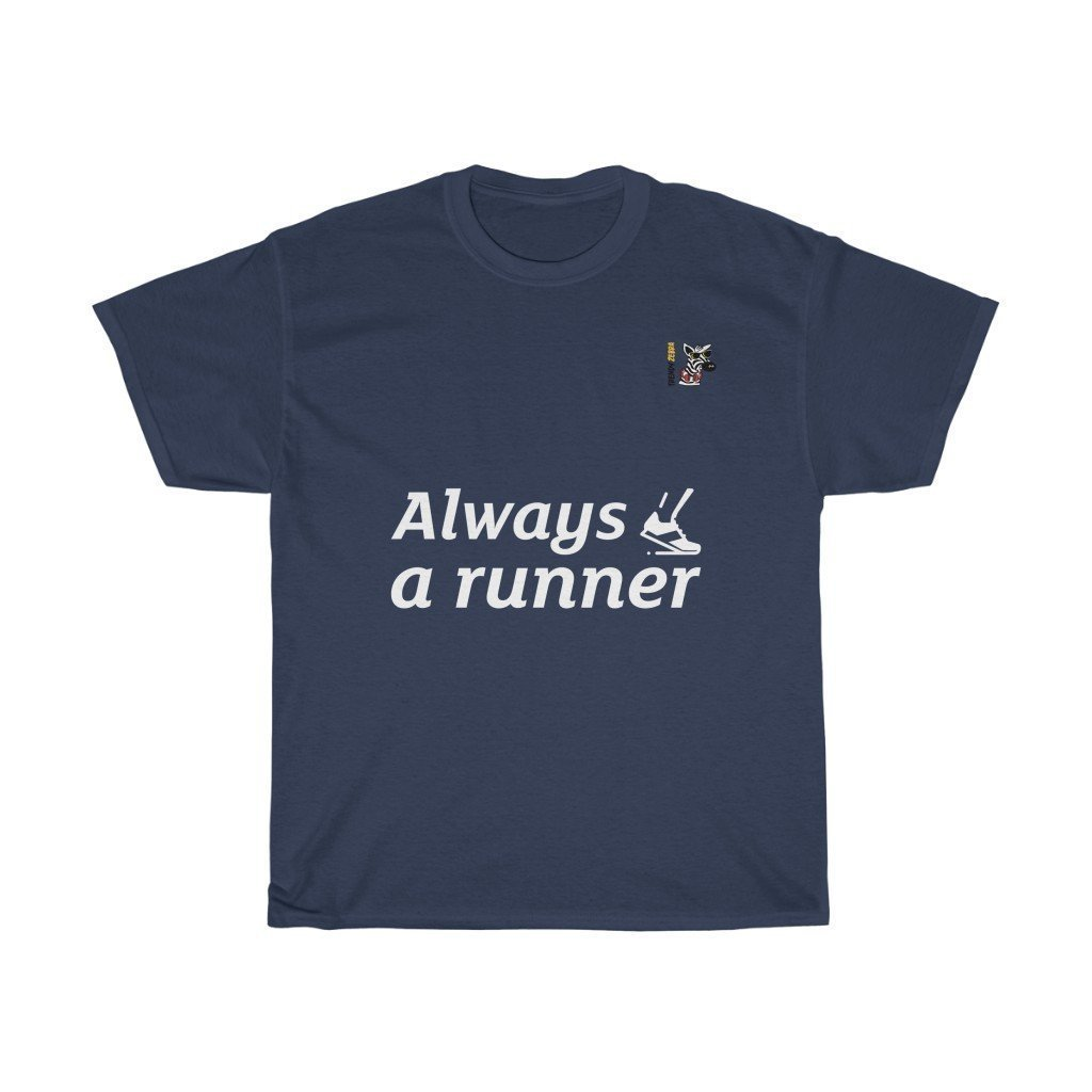 Runner's T-Shirt Trendy Zebra