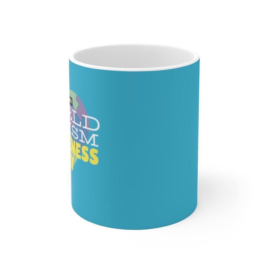 World Autism Awareness Day Mugs Trendy Zebra