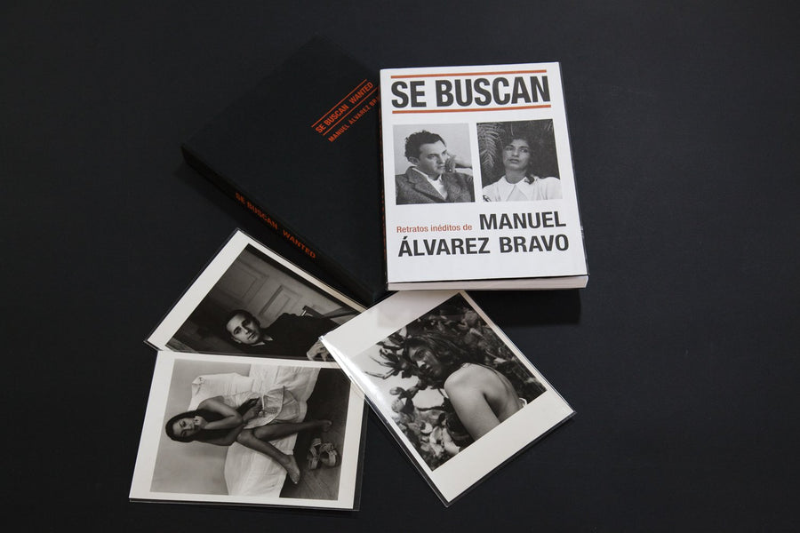 WANTED. Unpublished portraits of Manuel Álvarez Bravo SPECIAL EDITION
