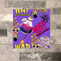 WAP-Witches And Potions (Purple Background)