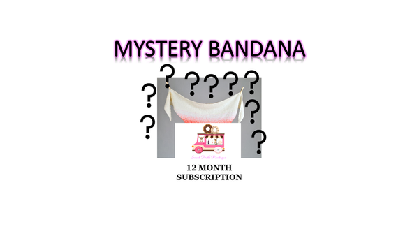 Mystery Bandana - 12 Month Subscription