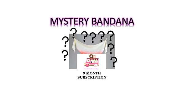 Mystery Bandana - 9 Month Subscription