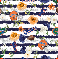 Florida Floral Striped