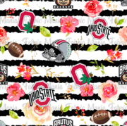 Ohio Floral Striped