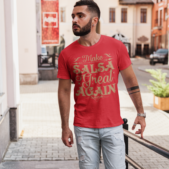 Make Salsa Great Again Men's Tee