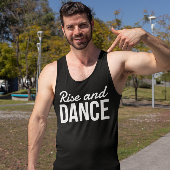 Rise And Dance Men's Tank Top