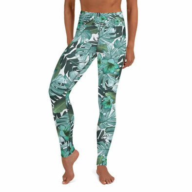 La Giungla High-Waist Dance Leggings - Infinity Dance Clothing