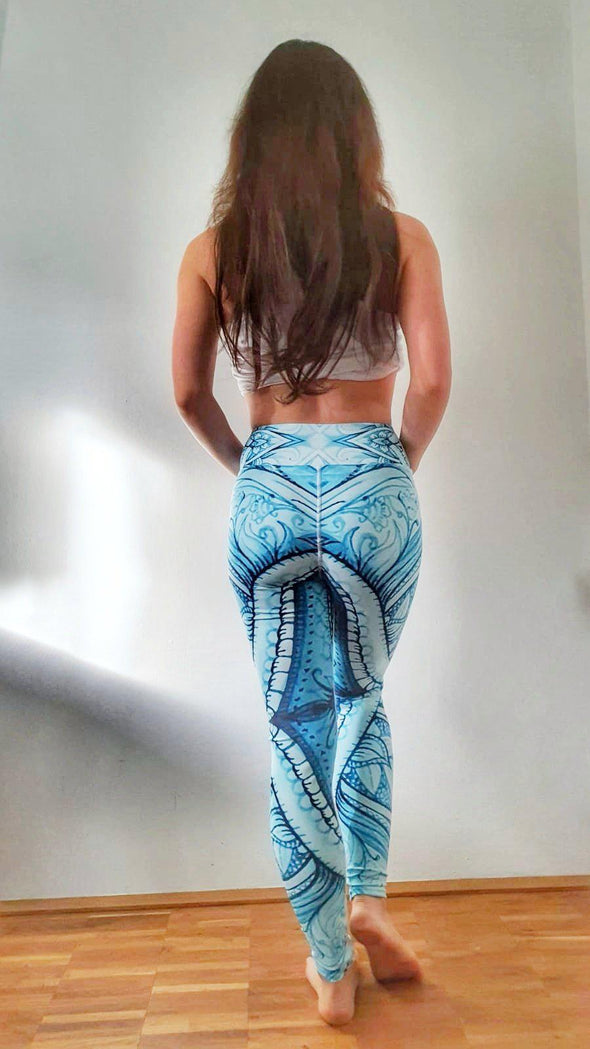 La Bramosia High-Waist Dance Leggings-Leggings-Infinity Dance Clothing
