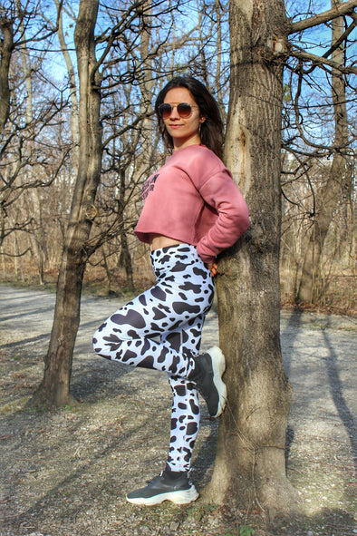 La Mucca High-Waist Dance Leggings