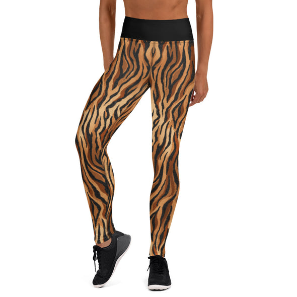 La Tigre High-Waist Dance Leggings-Leggings-Infinity Dance Clothing