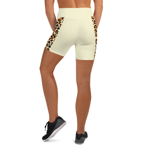 Il Leopardo Dance Shorts-Shorts-Infinity Dance Clothing