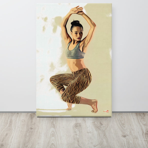 Graceful Dancer Canva-Canvas-Infinity Dance Clothing