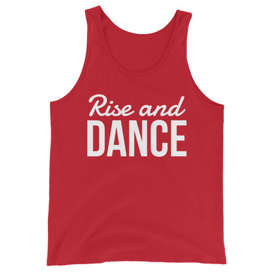 Rise And Dance Men's Tank Top - Infinity Dance Clothing