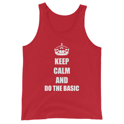 Keep Calm And Do the Basic Men's Tank Top - Infinity Dance Clothing